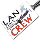 LAN Chile A340 Tag